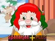 Kerstman kapsalon